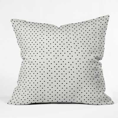 "TINY POLKA DOTS Indoor Throw Pillow - 16"" x 16"" - Polyester fill - Wander Print Co."