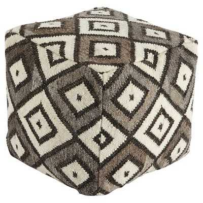 Signature Design by Ashley Flatweave Pouf - Target