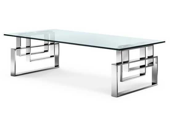 Hines Coffee Table GLASS - Apt2B