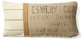 Textured Cotton Pillow - One Kings Lane