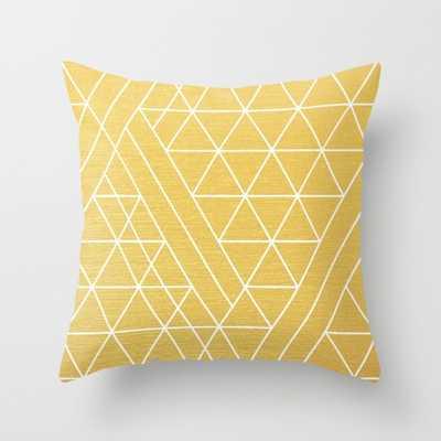 "Golden Goddess throw pillow-16"" x 16""-Insert not included - Society6"