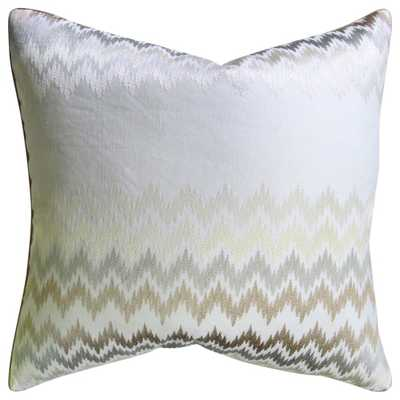 "ZIPPIDY DECORATIVE PILLOW NEUTRAL - 22"" - Insert Sold Separately - HD Buttercup"