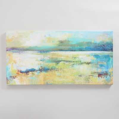 """""""Subdued II"""" by Elinor Luna - 54""""W x 1.5""""D x 27""""H - Unframed - World Market/Cost Plus"""