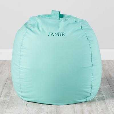 "40"" Ginormous Bean Bag Chair (Mint) - Land of Nod"