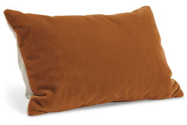 "Mohair Pillows - Ginger, 20""x13"", Feather/Down Insert - Room & Board"