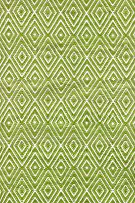 DIAMOND SPROUT/WHITE INDOOR/OUTDOOR RUG - 2x3 - Dash and Albert