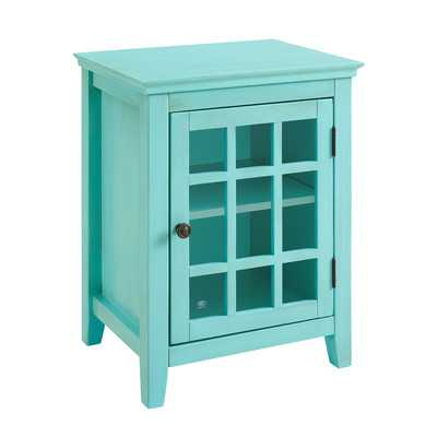 Largo Antique Single Door Cabinet - Wayfair