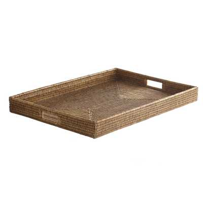 Russet Good Morning Tray - Large - Wisteria
