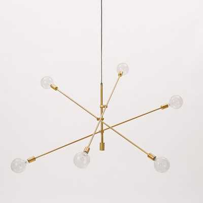 Mobile Chandelier - Grand - Antique Brass - West Elm