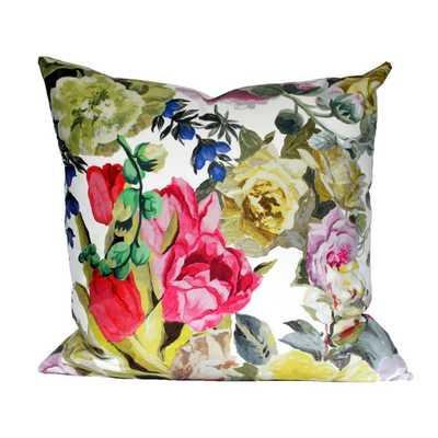 "Designers Guild Orangerie Rose pillow cover 2 sidd 17""x17""-No Insert - Etsy"
