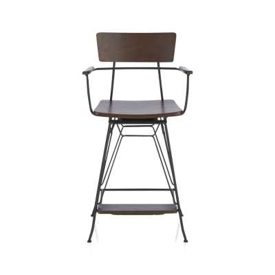 Elston Swivel Counter Stool - Crate and Barrel