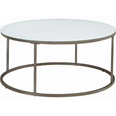 Alana Coffee Table - Frosted Glass - Wayfair