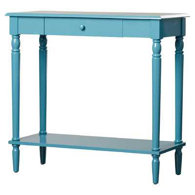 Pensacola Console Table - Blue - Wayfair