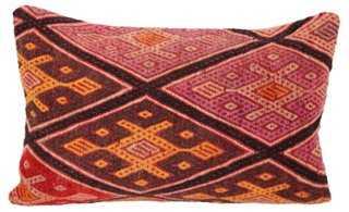 Turkish Kilim Cushion - 24x16, With Insert - One Kings Lane