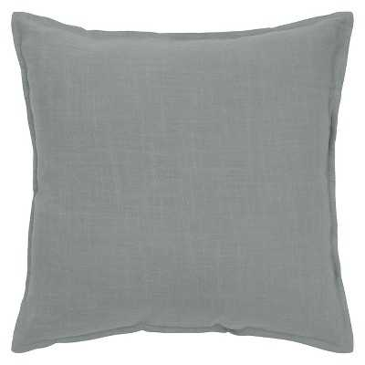 "Rizzy Home Solid Decorative Pillow-20""Sq, Off White, with insert - Target"