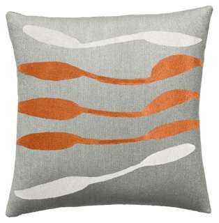 Mobile 18x18 Wool Pillow - One Kings Lane