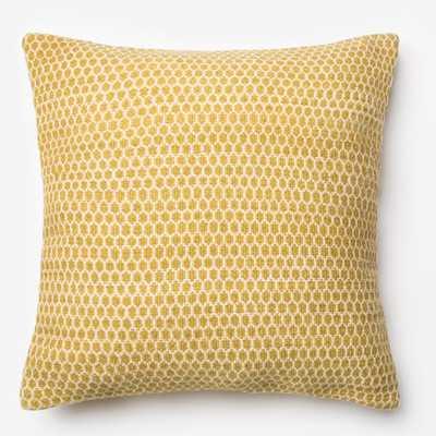 "Throw Pillow - Lemon - 22"" H x 22"" W - Insert Included - Wayfair"