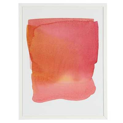 Soft Blend Rose Wall Art - Land of Nod