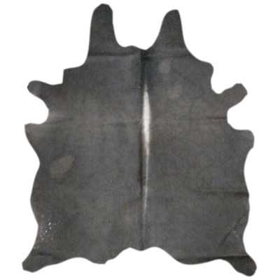 Natural Cowhide Black Area Rug - Wayfair