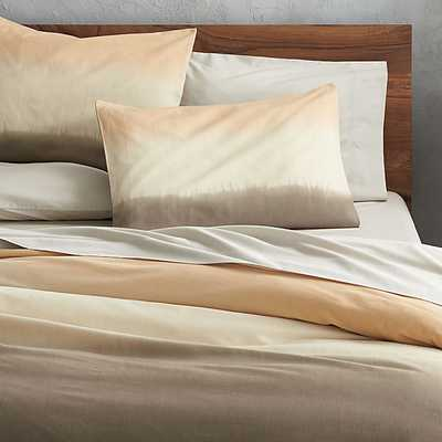 ombre bed linens - CB2