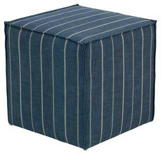Astair French Seam Cube - One Kings Lane