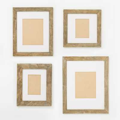 Gallery Frames - Weathered Wood - West Elm