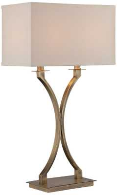Lite Source Cruzito Antique Brass Table Lamp - Lamps Plus