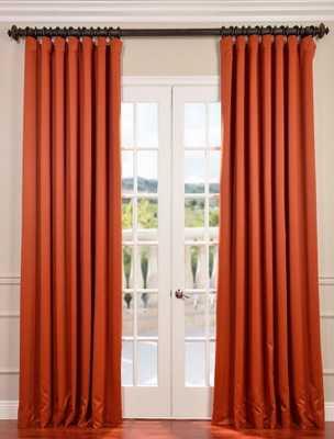 Blaze Doublewide Blackout Curtain - halfpricedrapes.com