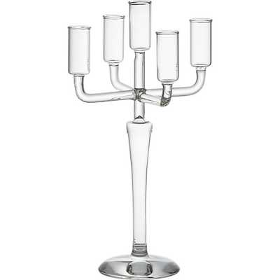 Labra holds 5 taper candle holder - CB2