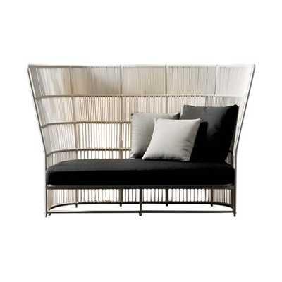 Tibidabo High Sofa in White - AllModern