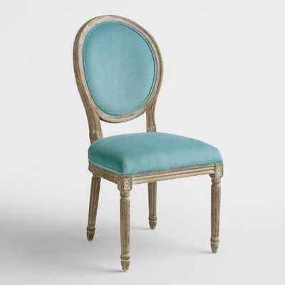 Peacock Paige Round Back Dining Chairs - World Market/Cost Plus