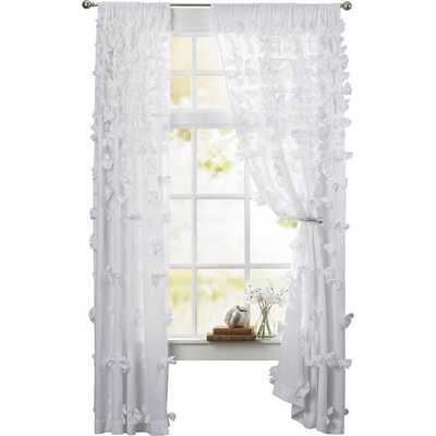 Concepcion Single Curtain Panel - White - Wayfair