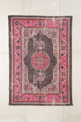 Magical Thinking Salma Printed Rug - Pink, 5' x 7' - Urban Outfitters