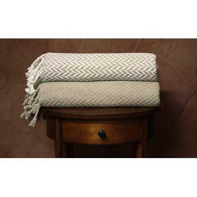 Monacco Cotton Throw - Wayfair