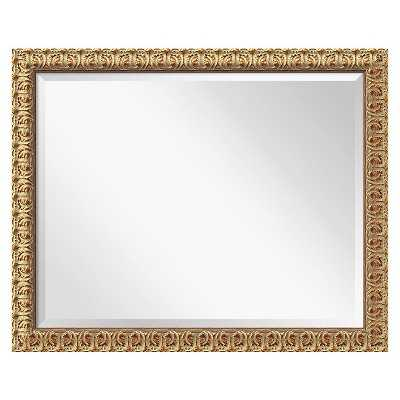 Florentine Gold Wall Mirror - Large' 32 x 26-inch - Target