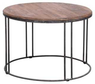 Alabama Round Coffee Table - One Kings Lane