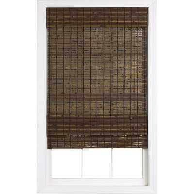 Havana Bamboo Roman Shade-Pecan - Wayfair