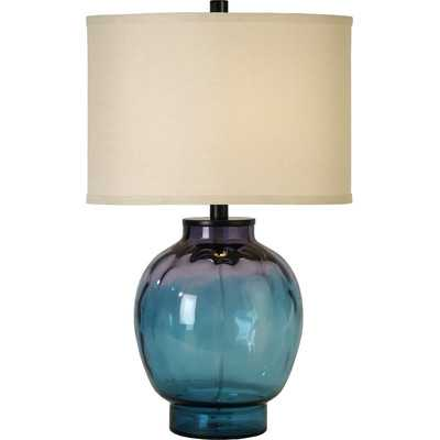 "Panacea 27.5"" H Table Lamp with Drum Shadeby Trend Lighting Corp. - Wayfair"