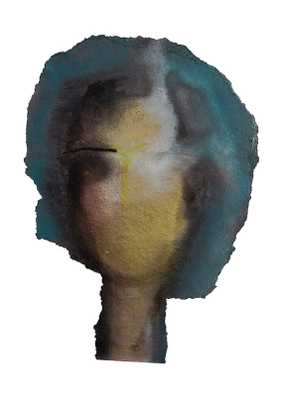 """Woman Face Abstract -42x60""""-unframed - Etsy"""