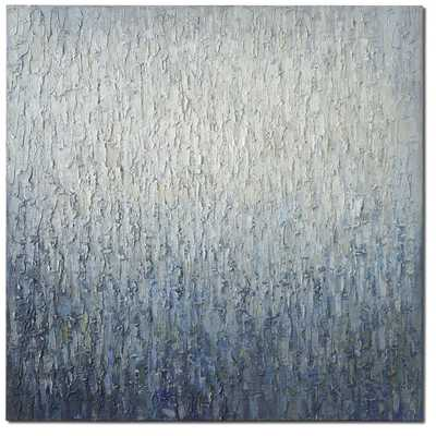 Outside The Window Painting on Canvas 36x36 unframed - Wayfair