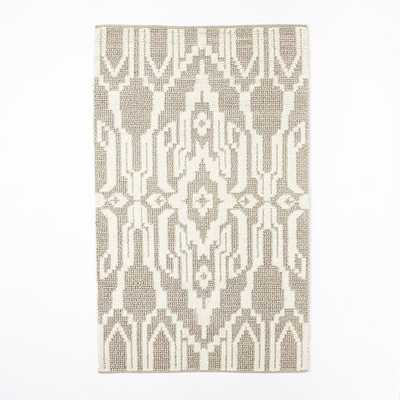 "Signet Wool Rug - Heather Gray-9""x12"" - West Elm"