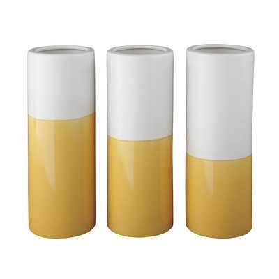 Dalal Vase - Yellow - Wayfair