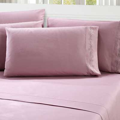 Elegant 1000 Thread Count Queen Sheet Set - Pink - AllModern