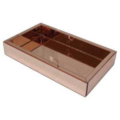 Threshold Square Copper Mirror Decorative Tray - Target