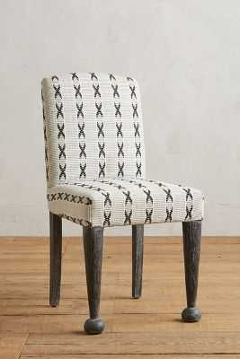 Cross-Stitched Dining Chair - Anthropologie
