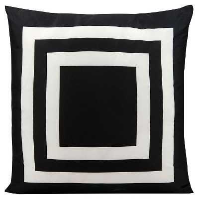 Simple Stripe Indoor/Outdoor Decorative Pillow - Target