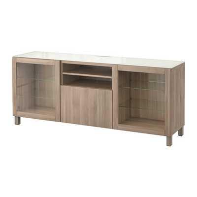 BESTÃ… TV unit- Drawer Runner, Push-open - Ikea