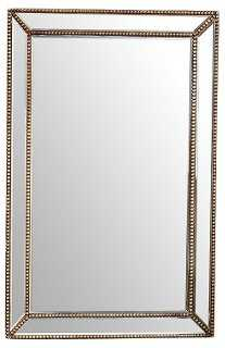Cosmic Wall Mirror, Gold - One Kings Lane