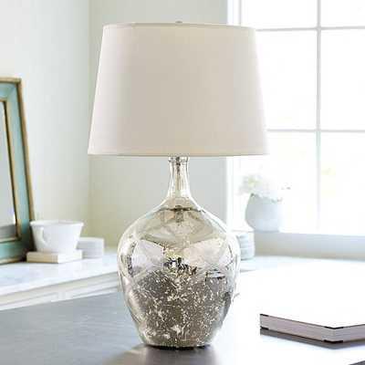 Mercury Glass Lattice Table Lamp - Ballard Designs