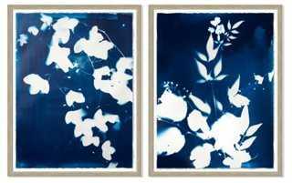 Emily Jeffords, Forest Diptych - 32x40 - Framed - One Kings Lane